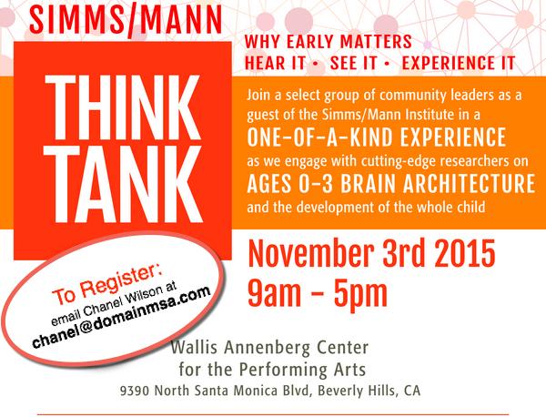 Think Tank Website Image